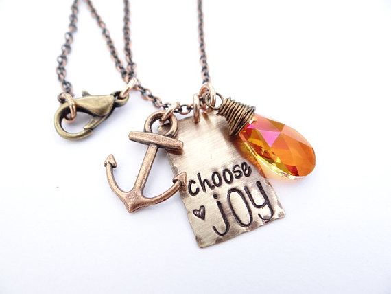 Choose Joy Necklace ~ BBeadazzled