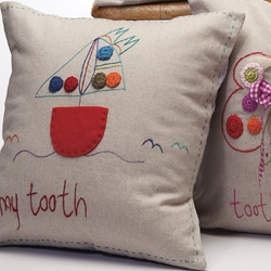 Tooth Pillow: Jacaranda