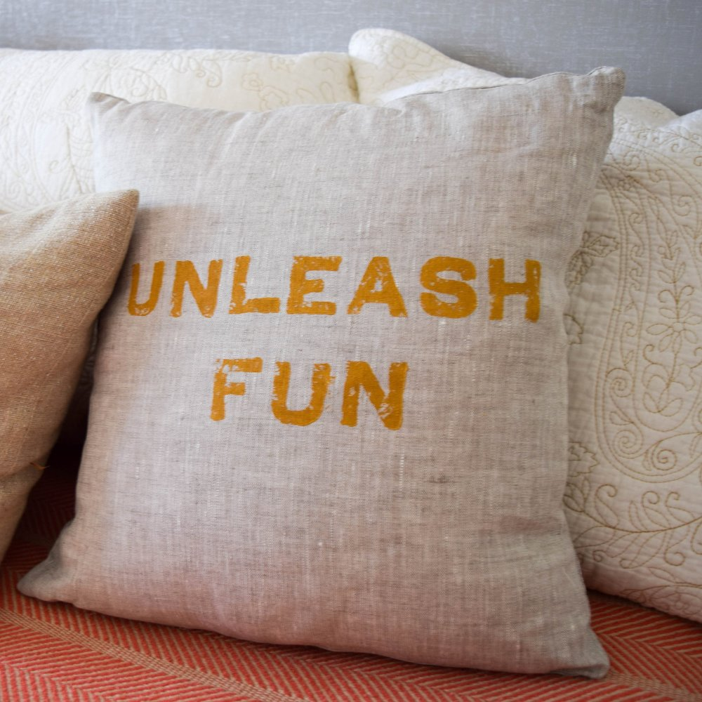 Linen Pillow: TPY Marketplace
