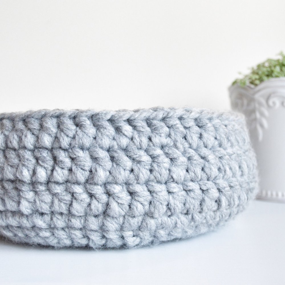 Crocheted Basket: Elias Frank