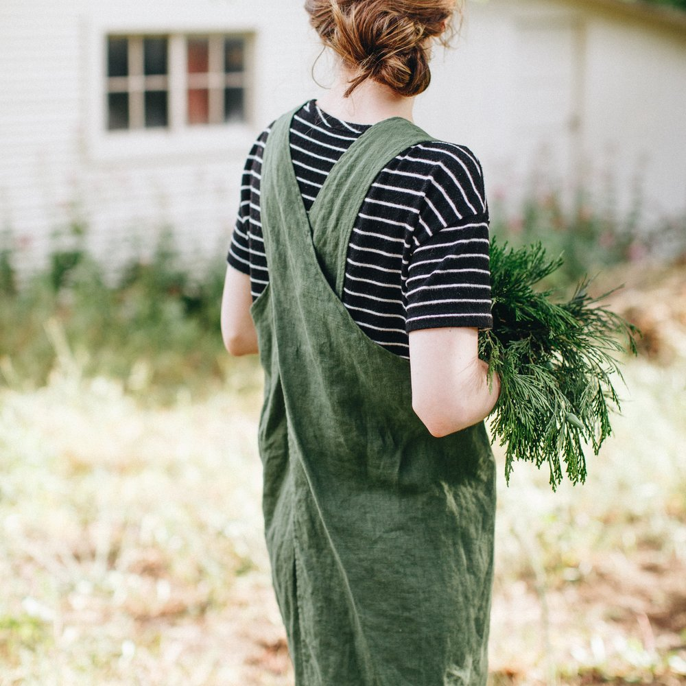 Portland Apron Co. Pinafore ($77)
