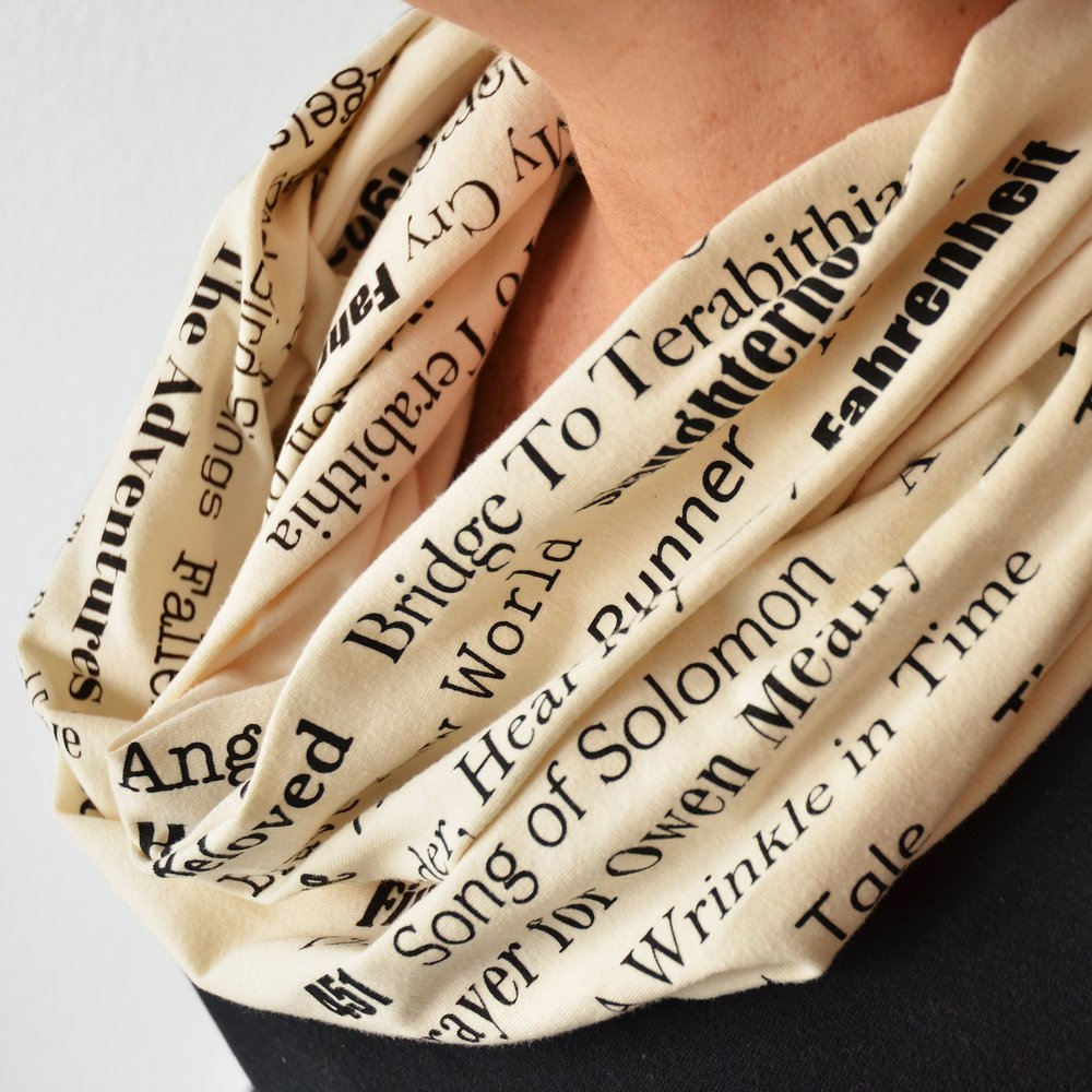 Mod Lux Banned Books Scarf ($38)