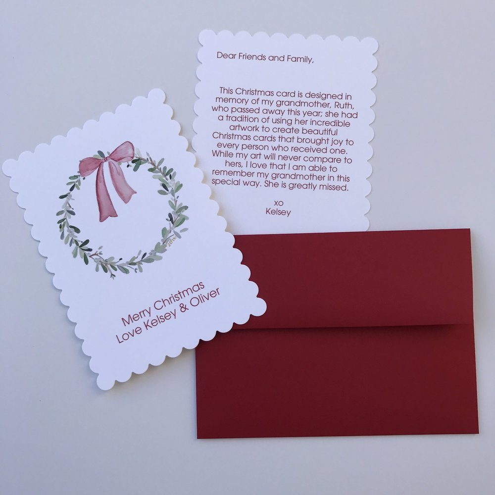 Christmas Cards: An Experience in Loss + Love — The Perpetual You