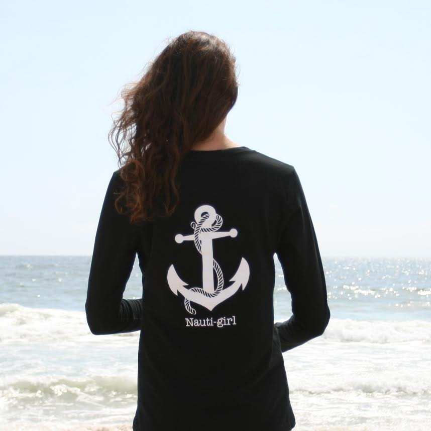 Nauti Girl Shirt, Simply Chickie