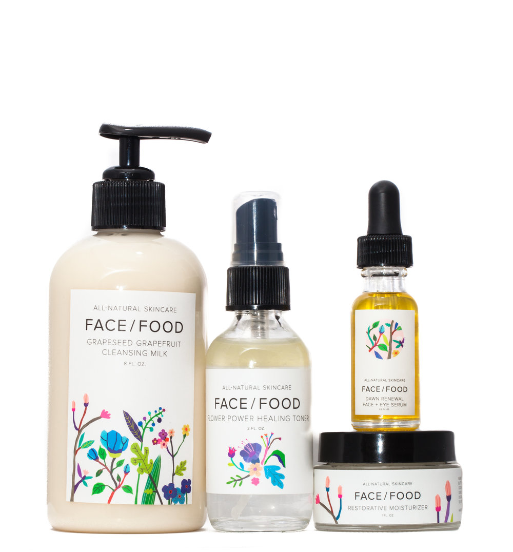 Skin Care Set, Face \ Food
