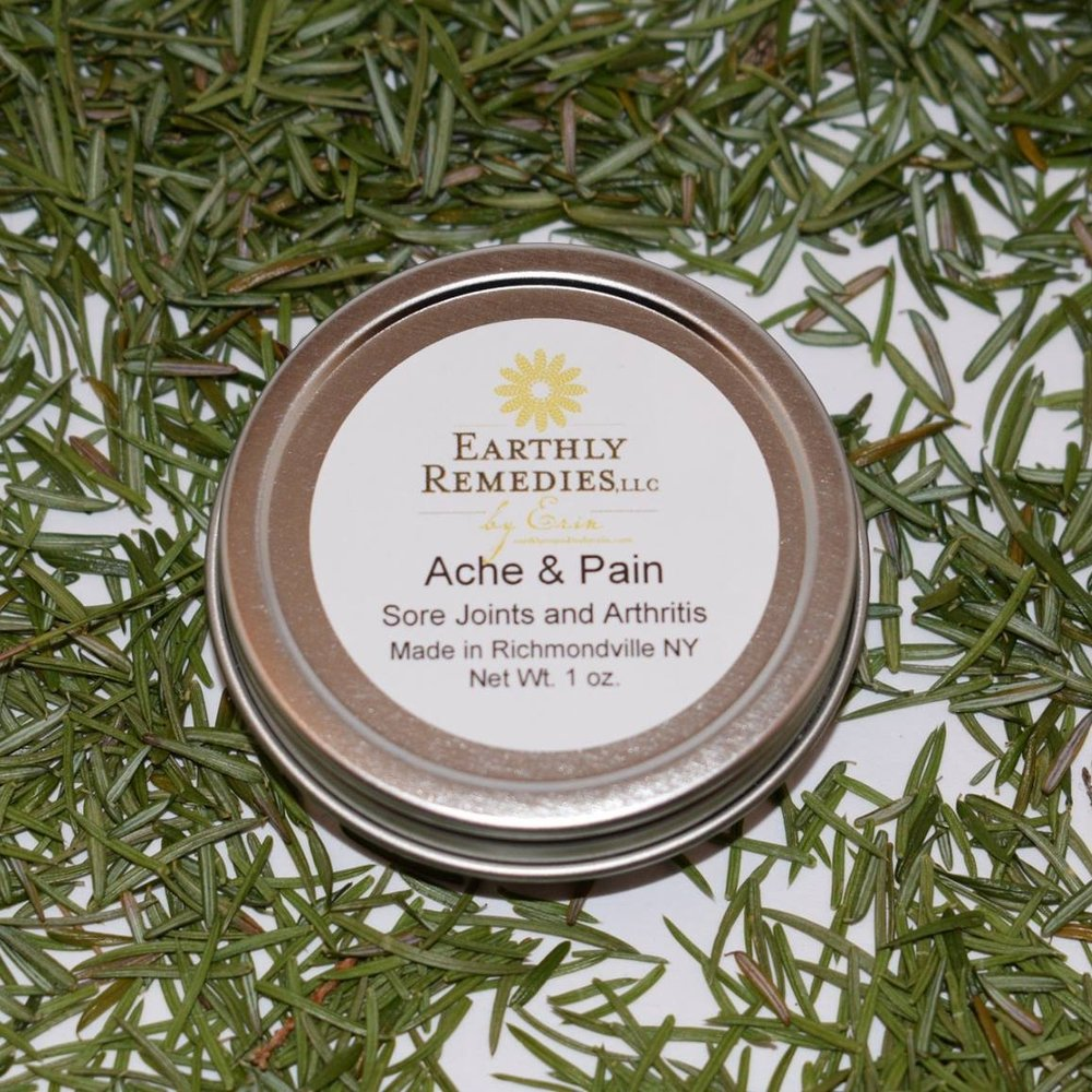 Pain Salve, Earthly Remedies by Erin