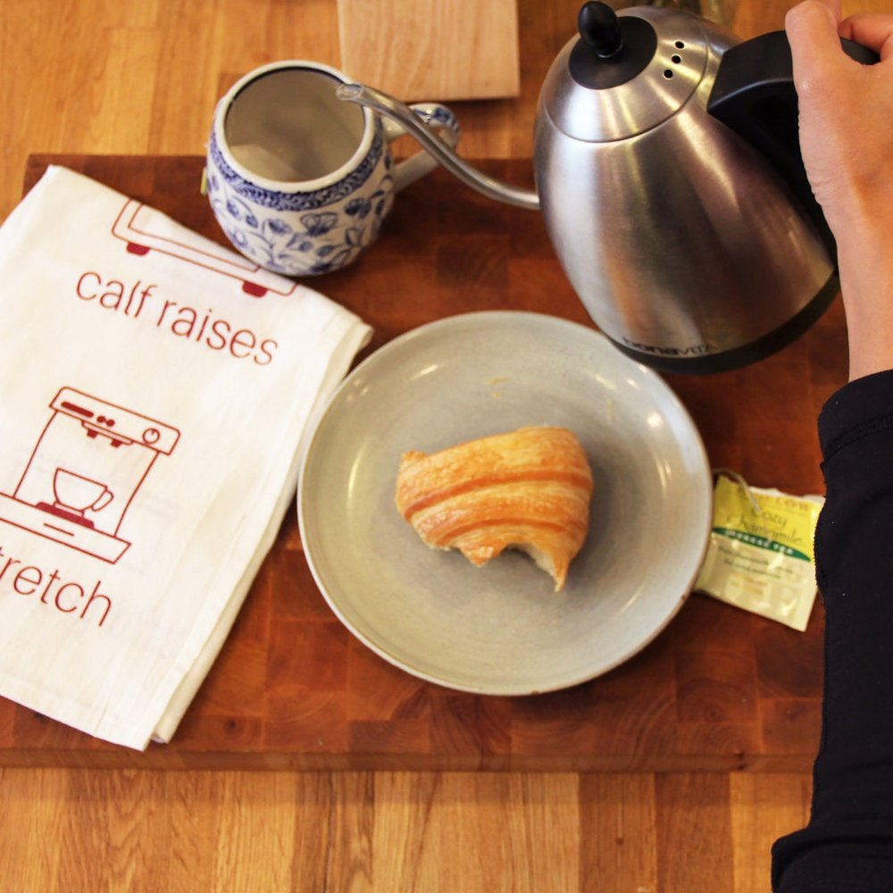 Kitchen Workout Dish Towel, FitStyle