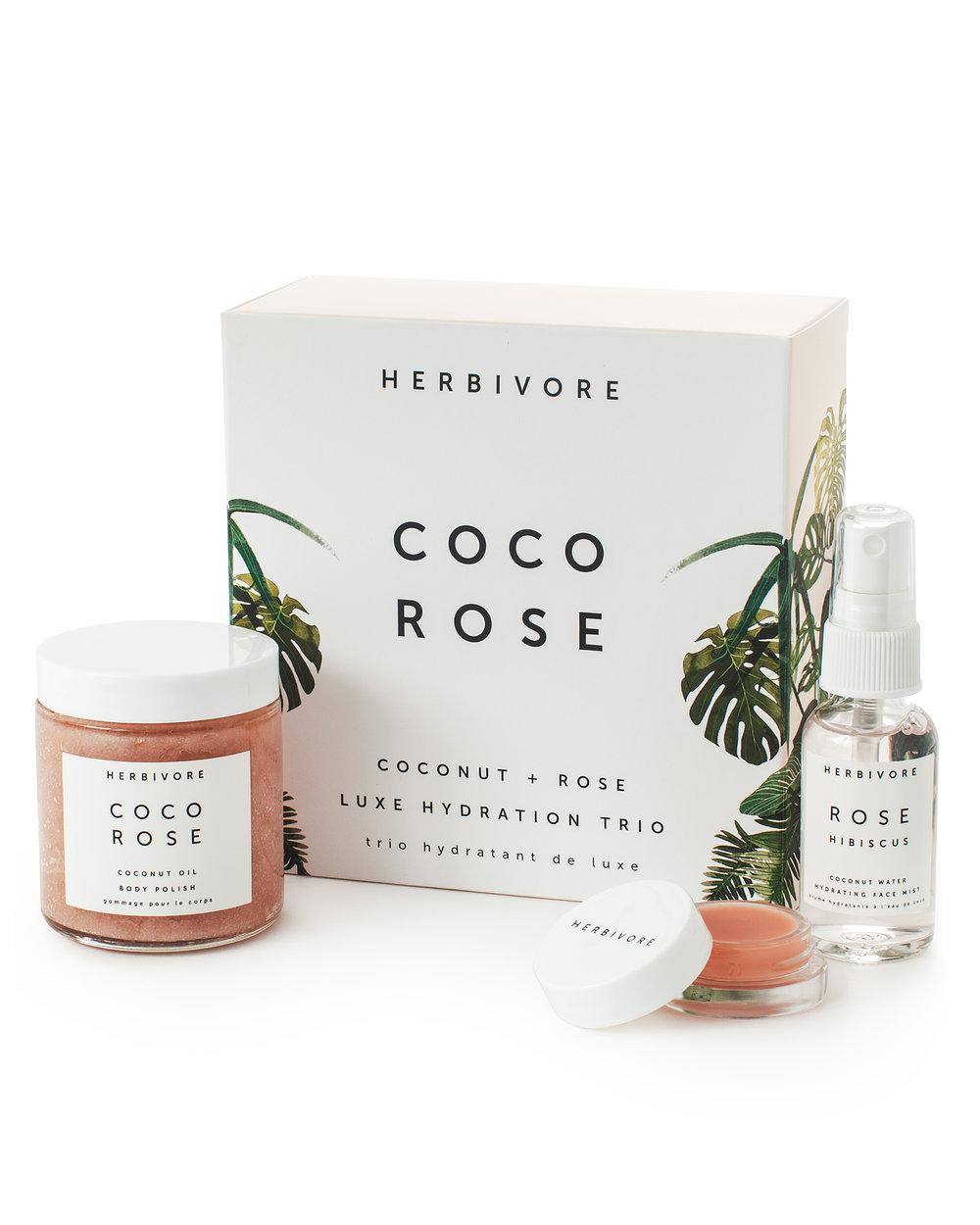 Rose Hydration Trio (Herbivore)