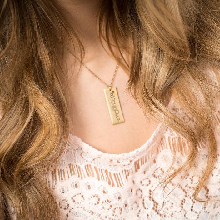 'Adopt' Necklace (Nair & Bjorn)