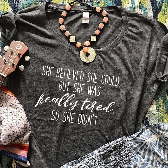"""She Persisted"" T-shirt (Salty Mama)"