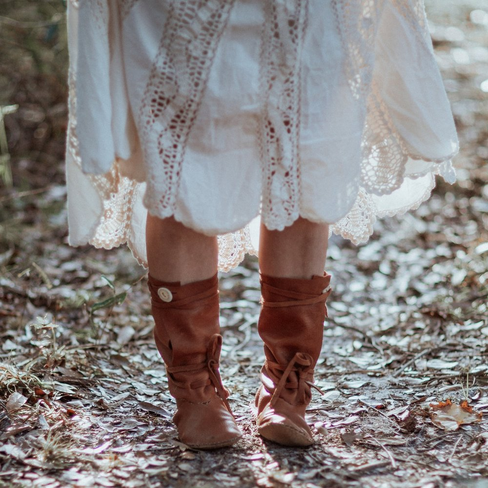 Handmade Moccasins (Into the Wildway)