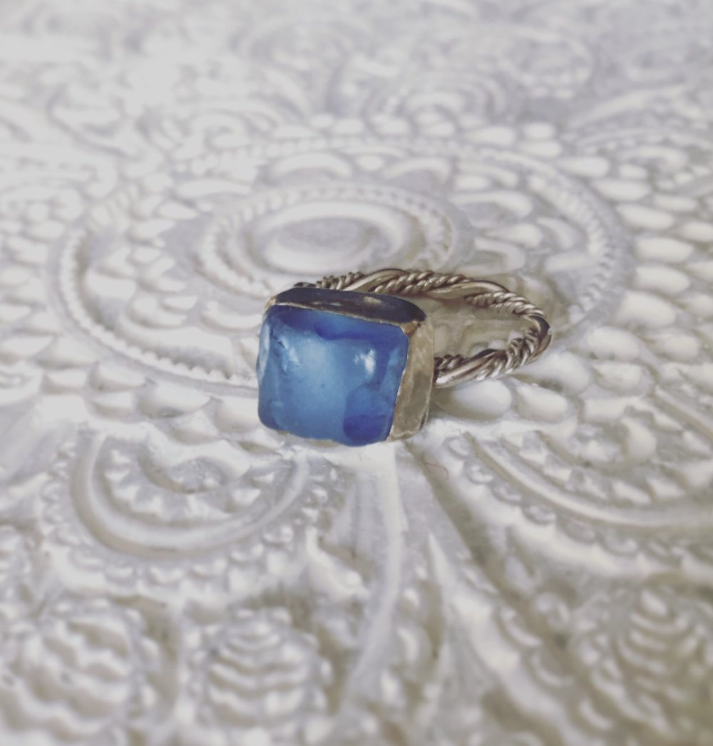 Blue Jean Baby Ring (Seaduced)