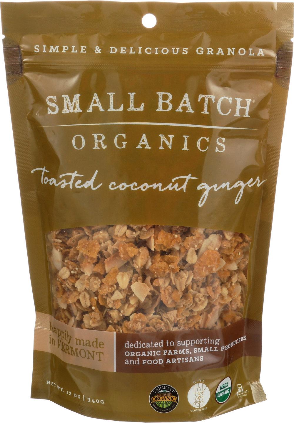Coconut Ginger Granola (Small Batch)