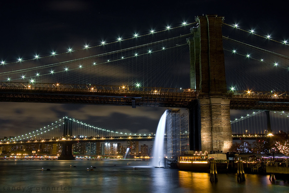 The Waterfalls - DUMBO - New York City - NY