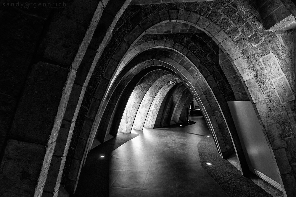 Attic Archways-Spain-Barcelona
