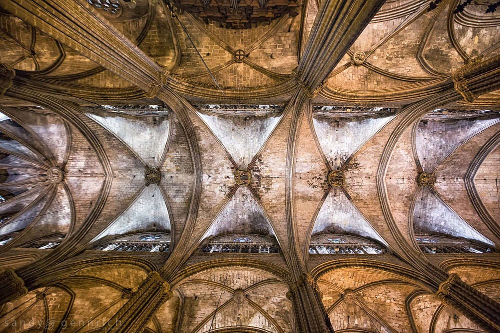 Barcelona Cathedral-Spain-Barcelona