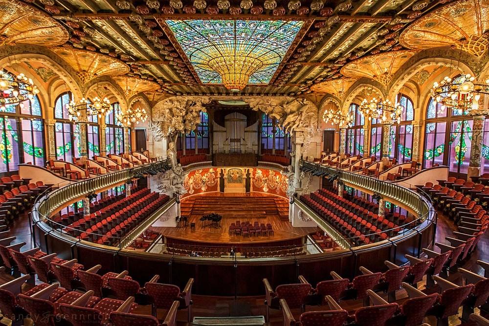 Palau de la Musica Catalana-Spain-Barcelona