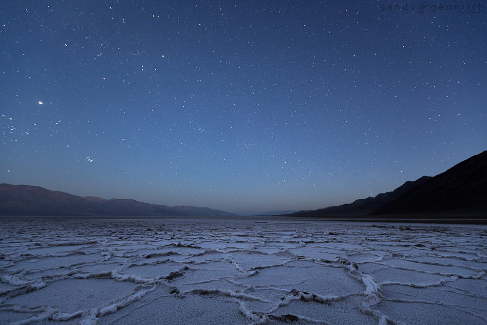 And to All a Good Night - Badwater - Death Valley - CA