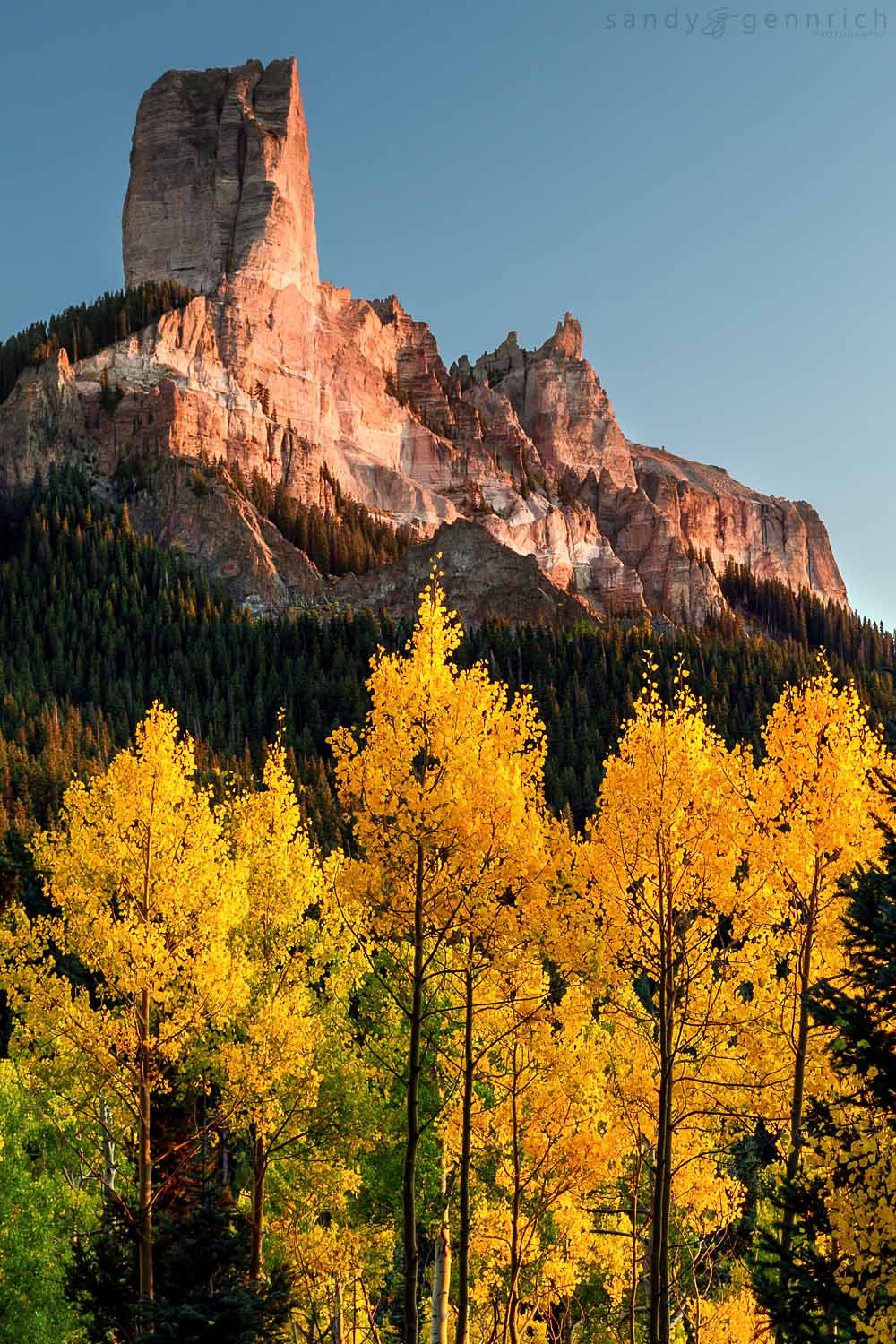Courthouse Mountain-CO-Ouray Area