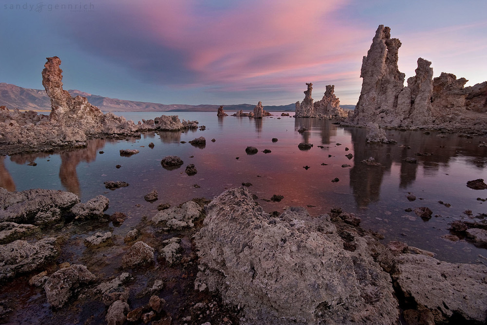Morning Reflection - Mono Lake - CA