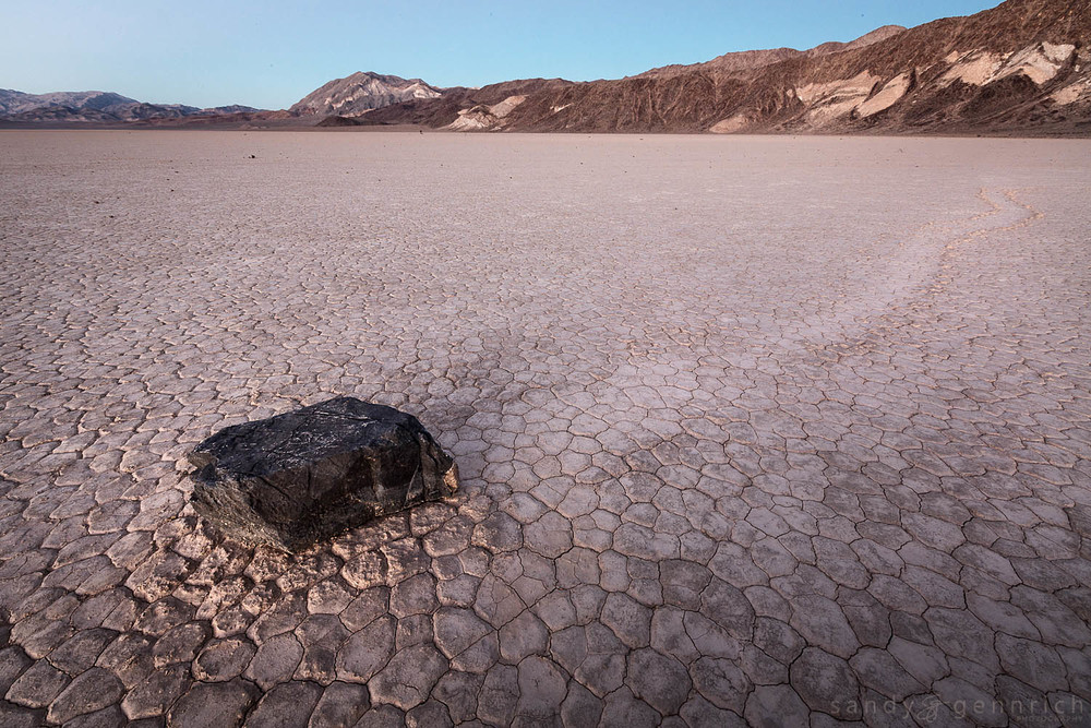 Moving At My Own Pace - Racetrack Playa - Death Valley - CA