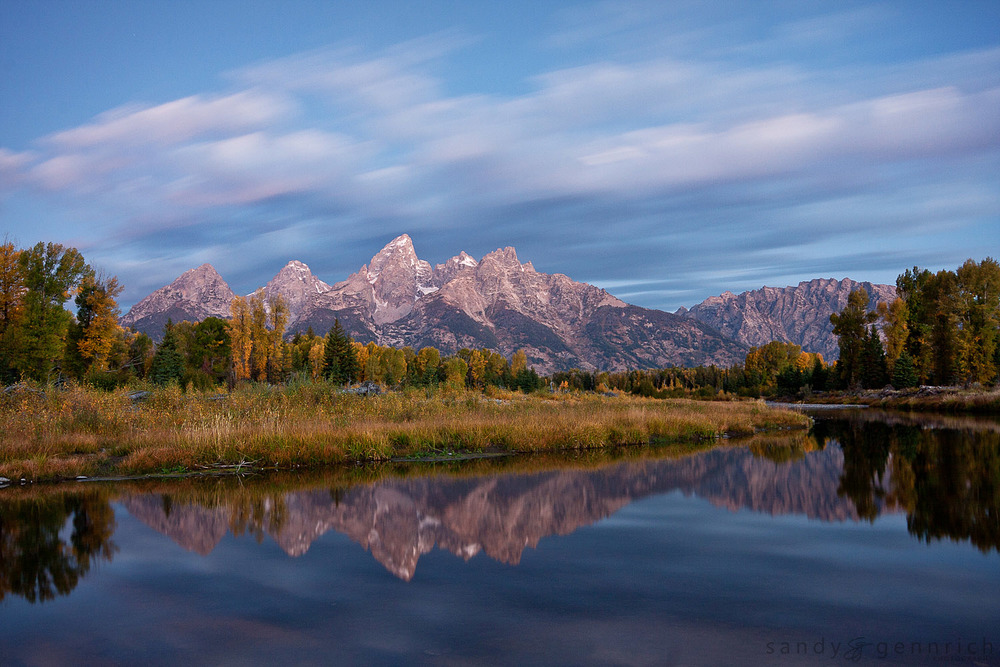 Schwabacher Landing Revisited-Grand Tetons National Park-WY