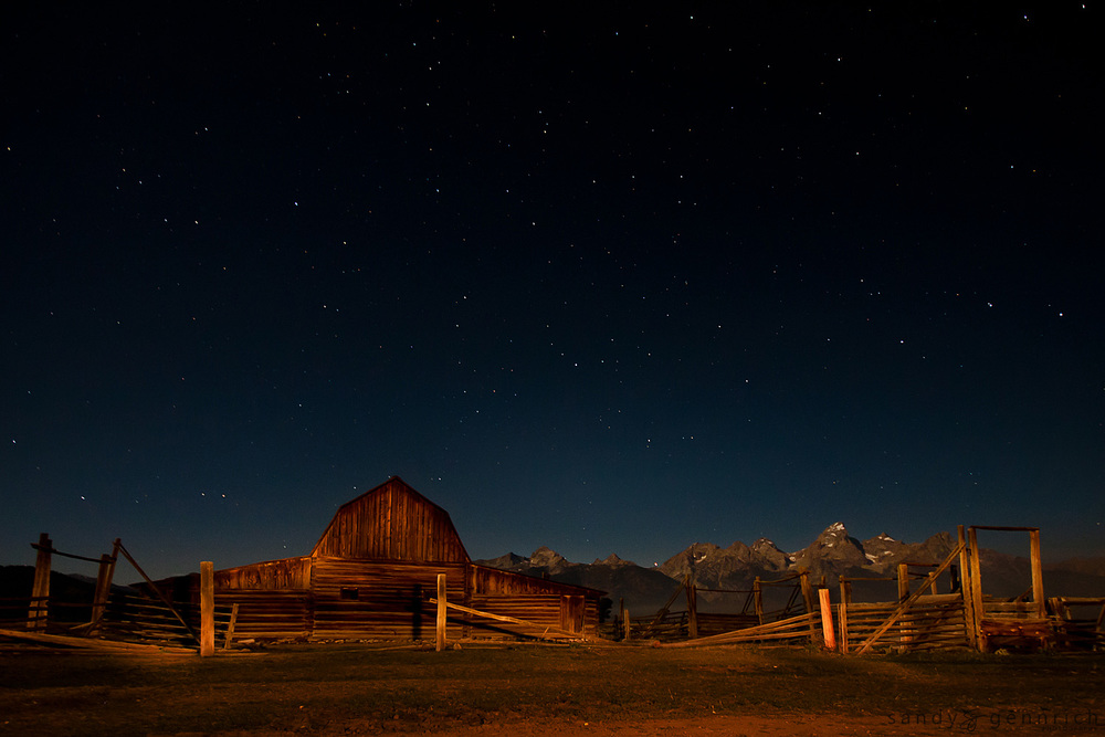 Starry Starry Night - Grand Tetons National Park - WY