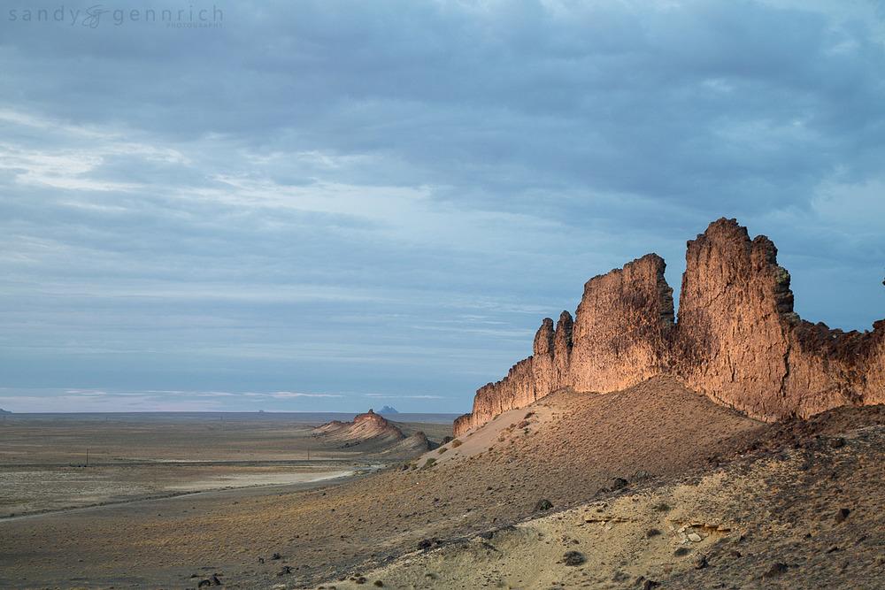 Volcanic Ridge - Shiprock - NM