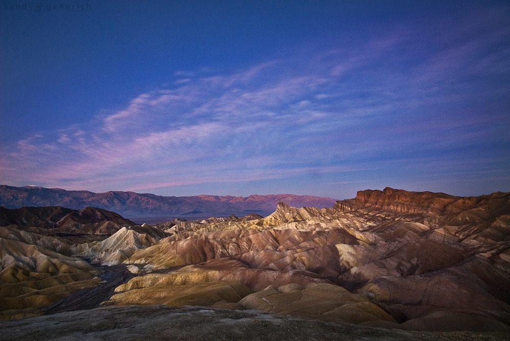 Zabriskie Morning - Death Valley, CA