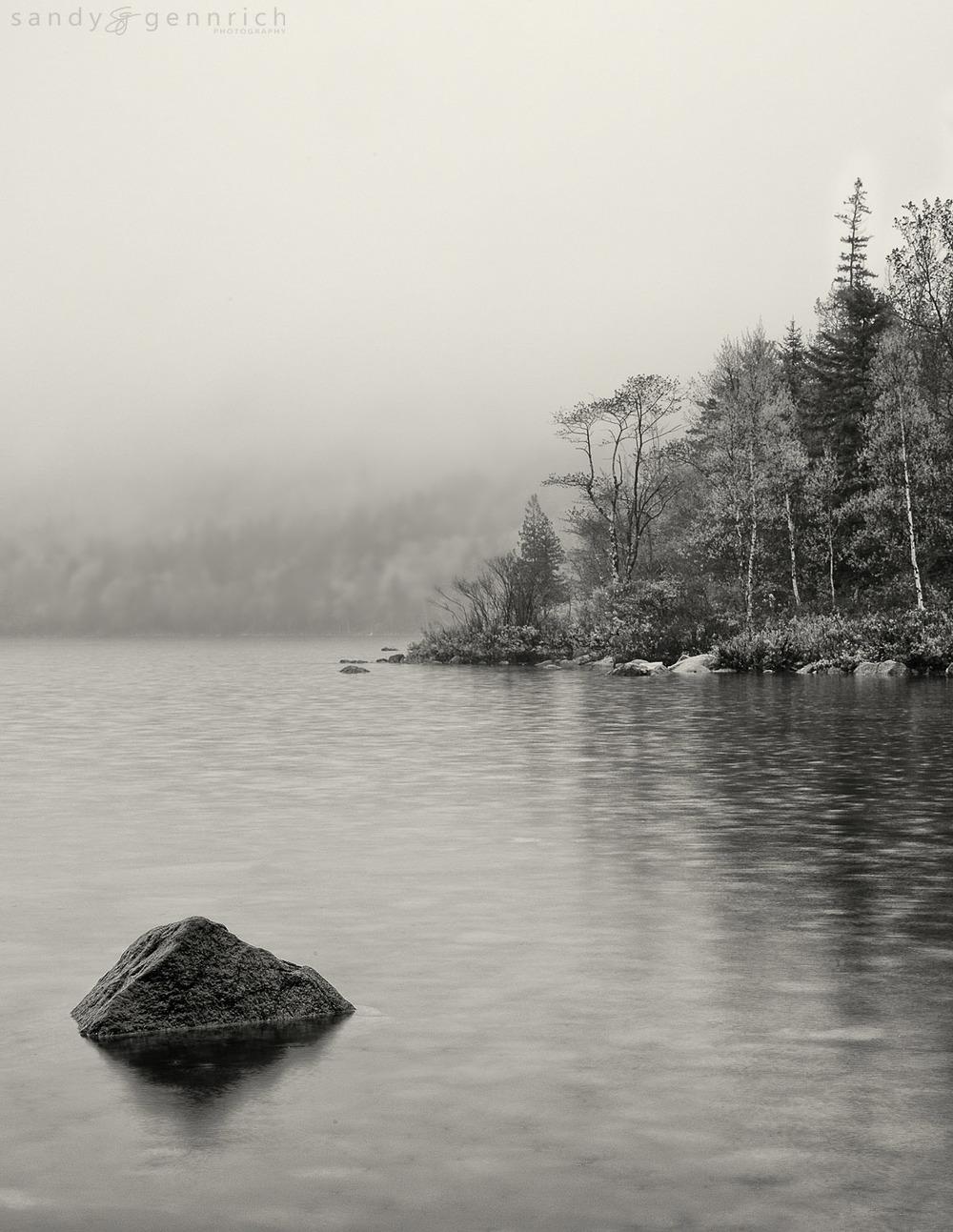 Counterpoint - Jordan Pond - Acadia National Park - Bar Harbor -