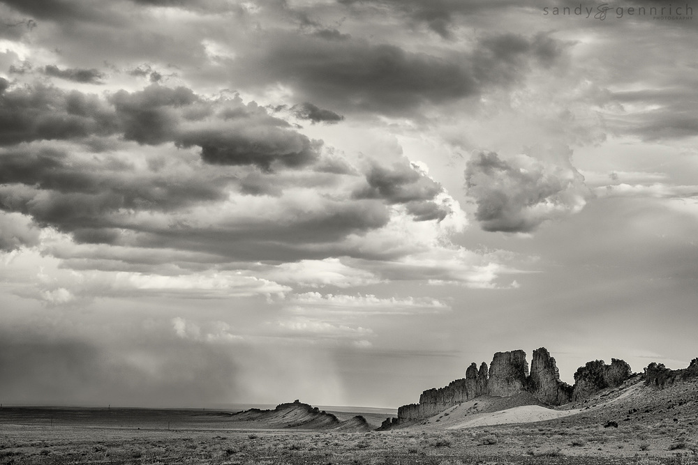 Shiprock's Spine - Farmington NM