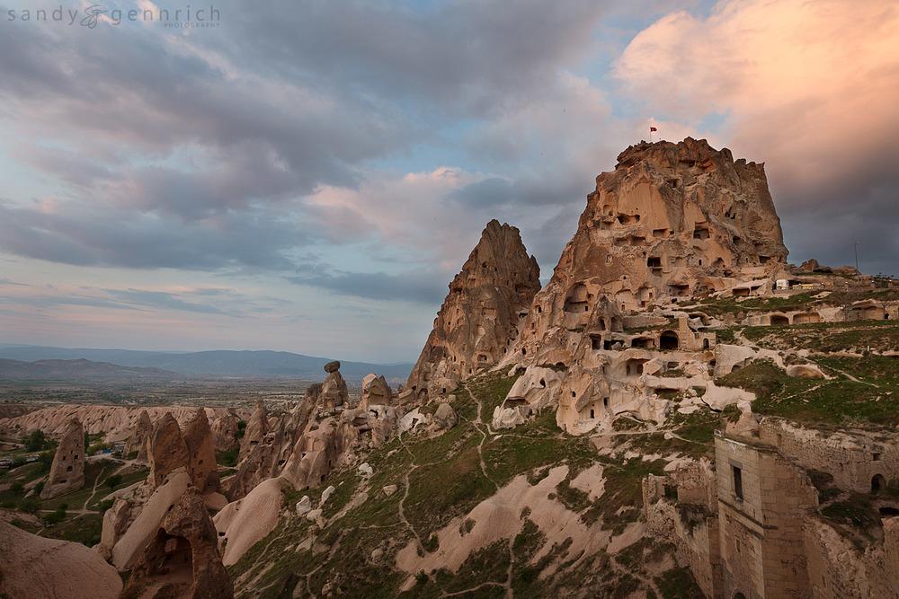 Uchisar Castle - Uchisar - Nevshehir - Turkey