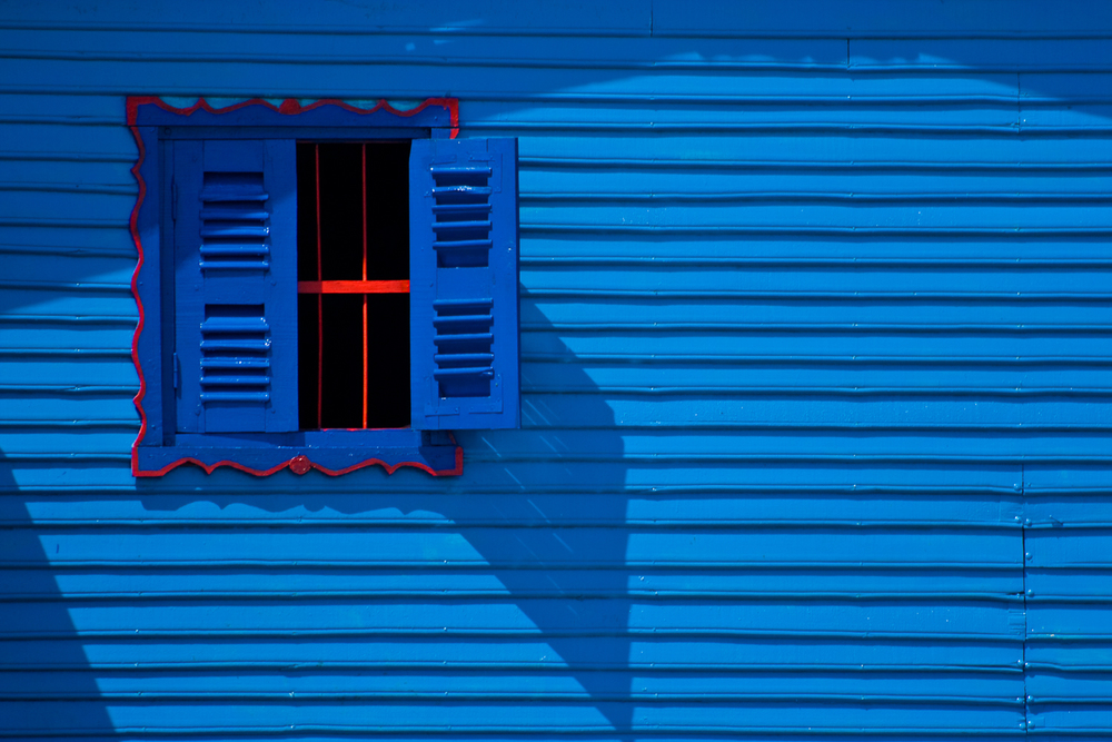 Blue Window - Cambodi