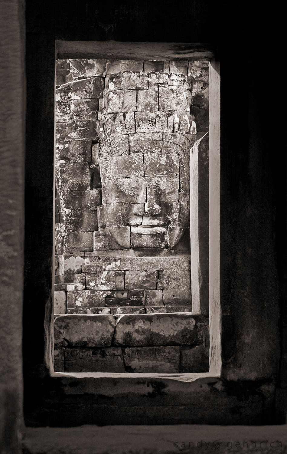 Doorways to Bayon Temple - Angkor Thom - Cambodia