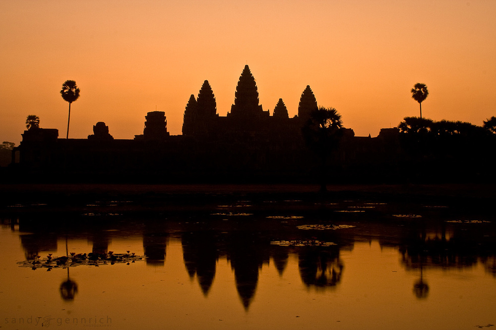 Sunrise at Angkor Wat - Cambodia