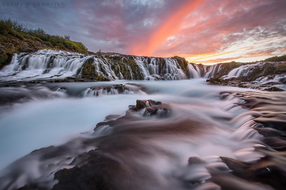 Infinite Cascades - Bruarfoss - Fludir - Iceland