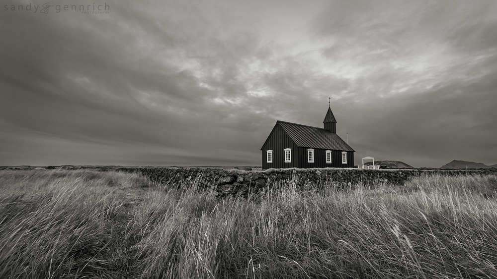 The Black Church - Budir - Iceland