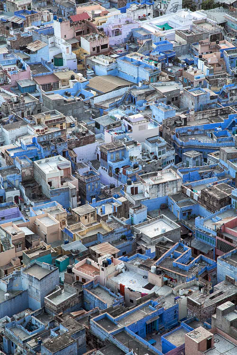 The Blue City-Mehrangarh Fort-Jodhpur-India