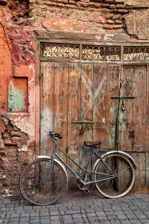 Flat Tires-Marrakech Medina-Morocco