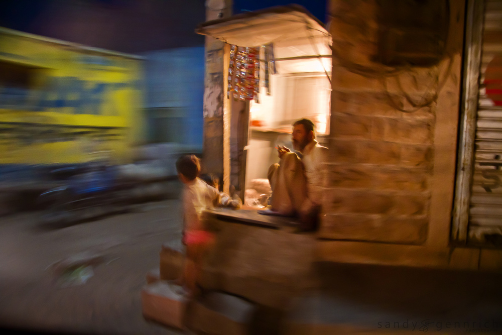 Evening Smoke - India in Motion - Jodhpur - India