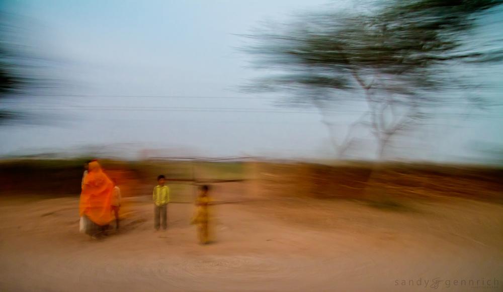 Family - Rural Rajastan - India