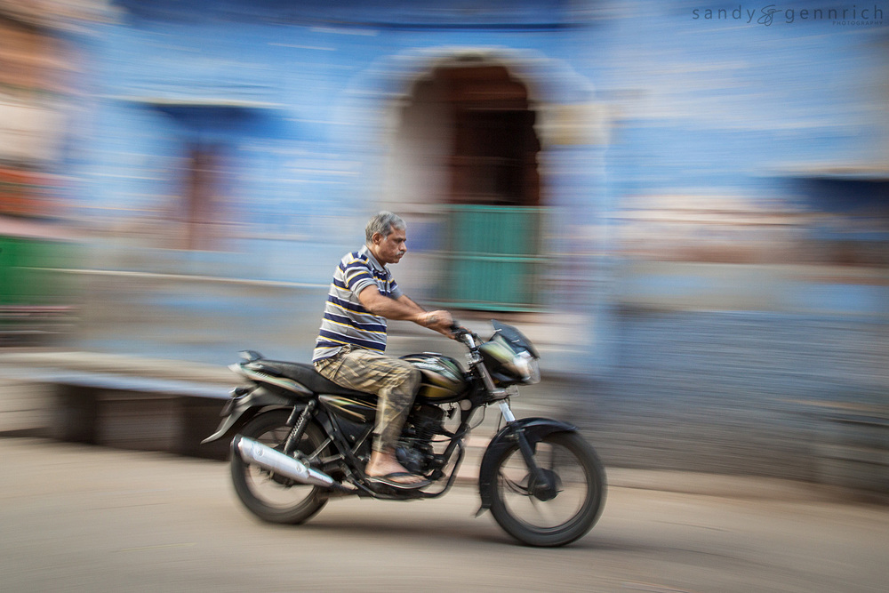 Ride Through Town-Jodhpur-India
