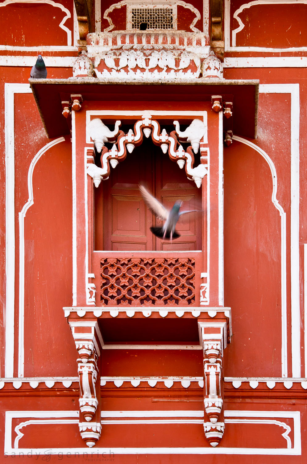 Take Off - Jaipur City Palace - Rajastan - India