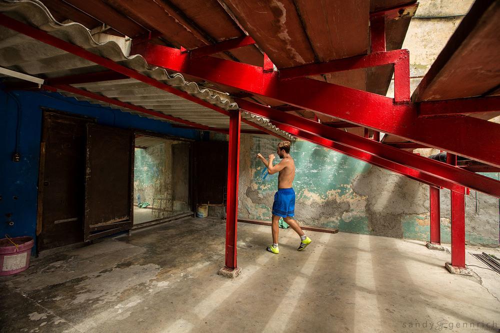 Boxing Practice-Cuba-Havana