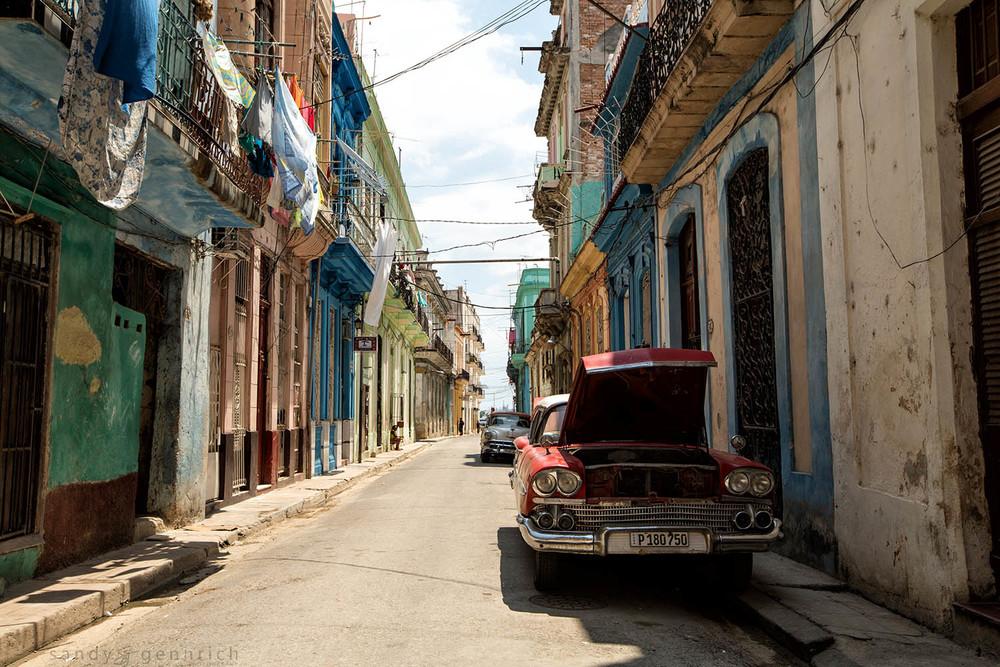 Side Street-Cuba-Havana
