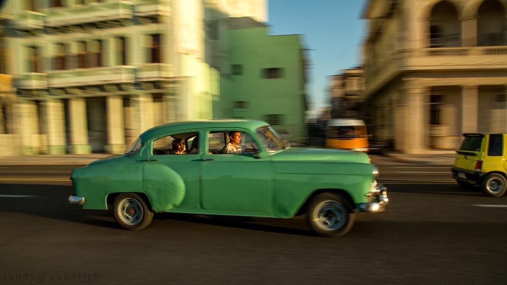 Cruising the Malecón-Cuba-Havana