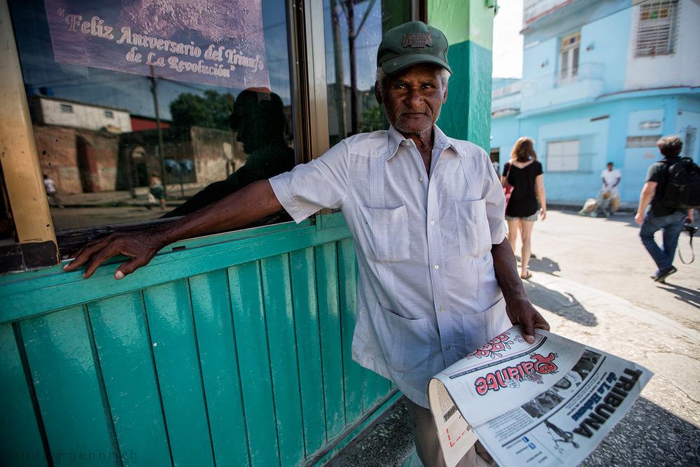 Morning Paper-Cuba-Havana