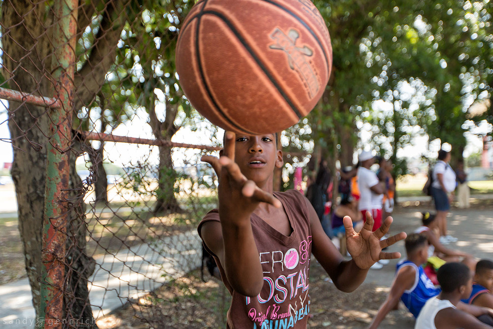 Basketball Tricks-Cuba-Havana