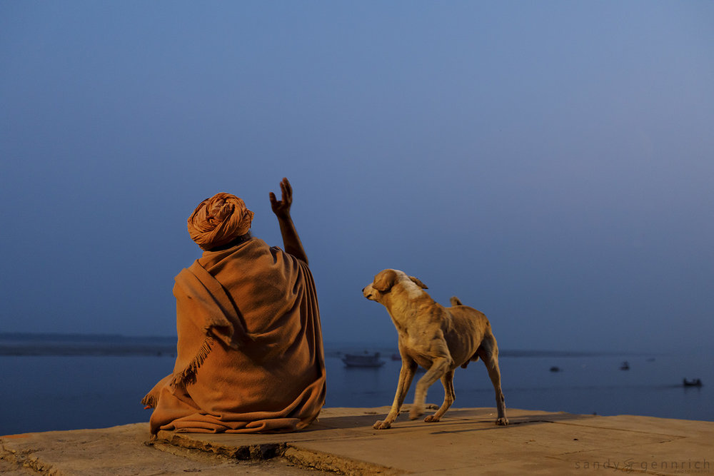 Morning Meditation-India-Varanasi
