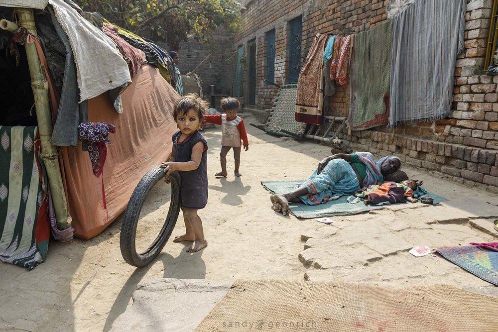 Village Life-India-Varanasi